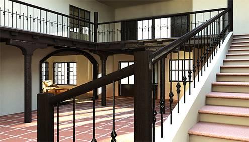3d visualisierung innenarchitektur. Black Bedroom Furniture Sets. Home Design Ideas
